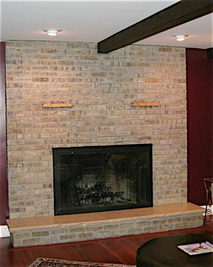 Brick Painting and Staining Alternative for ugly brick.  Brick Transformers is a Brick Staining and Recoloring Service that gives new life to old